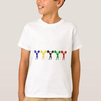 Camiseta Arrebatamiento del levantamiento de pesas limpio -