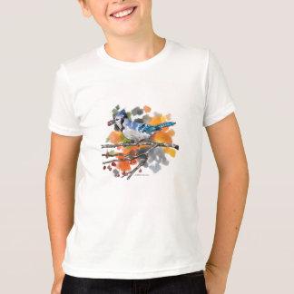 Camiseta Arrendajo azul encaramado en una rama