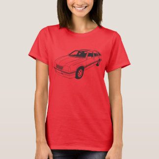 Camiseta arrogante de Vauxhall SRi Mk2