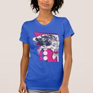 Camiseta Arte atractivo retro del carácter de la Mujer