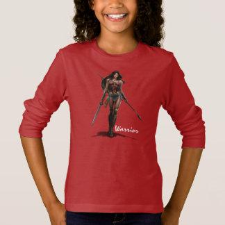 Camiseta Arte cómico Batalla-Listo de la Mujer Maravilla