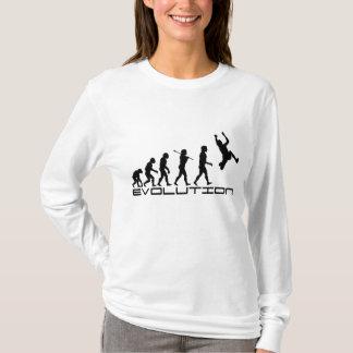 Camiseta Arte de la evolución del deporte de la triple