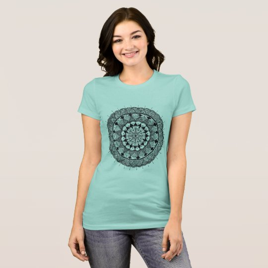 Camiseta arte de la mandala - el nuevo arte