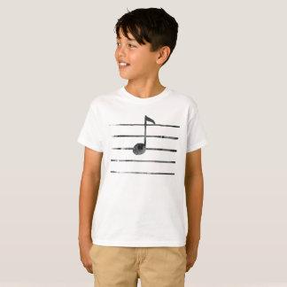 Camiseta Arte de la nota de la música