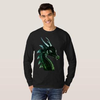 Camiseta Arte de la original de la cabeza del dragón de la