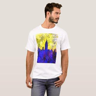 "Camiseta Arte de ""Nueva York"" Digital"