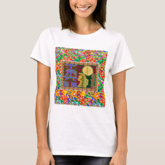 Camiseta Arte decorativo de los símbolos curativos de Reiki