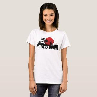 Camiseta Arte del aikido- de la paz