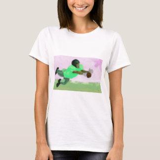 Camiseta Arte del alcance del fútbol