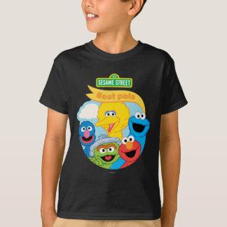 Camiseta Arte del carácter del Sesame Street