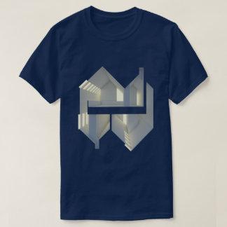 Camiseta Arte del concepto de la arquitectura de la