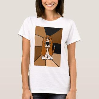 Camiseta Arte del perro de Basset Hound
