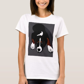 Camiseta Arte del perro negro