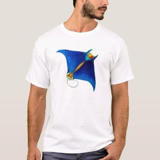 Camiseta arte del rayo de manta