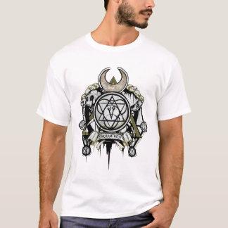 Camiseta Arte del tatuaje de los símbolos de la encantadora