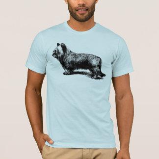 Camiseta Arte del vintage de Skye Terrier