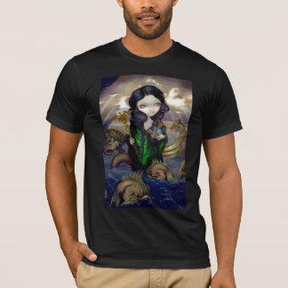 Camiseta Arte gótico del lowbrow de la fantasía de la