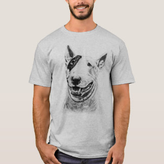 Camiseta Arte lindo del perro de bull terrier