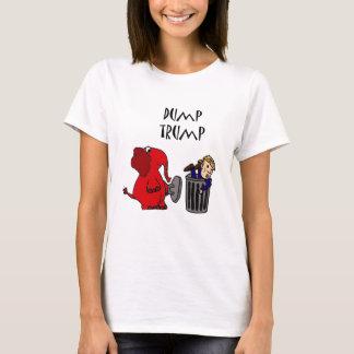 Camiseta Arte político del dibujo animado del triunfo