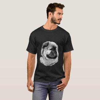 Camiseta Arte realista: Perro chino