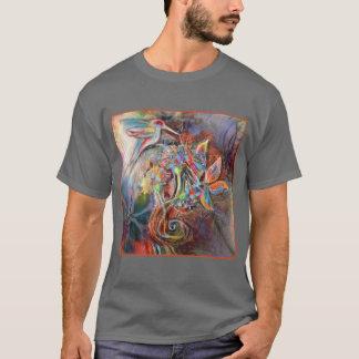Camiseta Arte suave de los pasteles del vuelo del colibrí