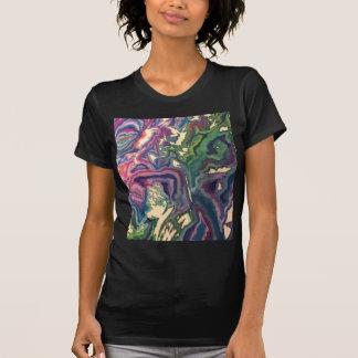 Camiseta Arte topográfico IV del papel seda