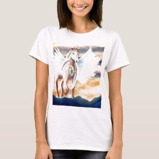 Camiseta Arte y diseño cons alas de Pegaso CricketDiane