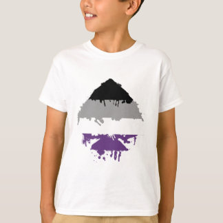 Camiseta As asexual de Paintdrip