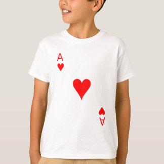 Camiseta As de los corazones (frente)