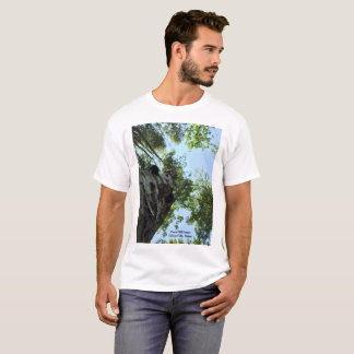 Camiseta ascendente recta - granjas de la colina