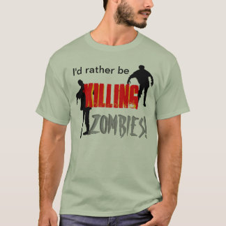 Camiseta Asesino del zombi