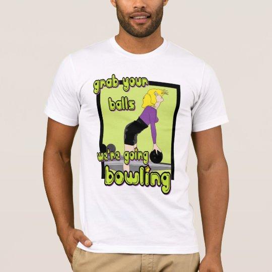 Camiseta Asga sus bolas que somos el rodar que va