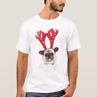 Camiseta Astas de mirada avergonzadas del reno del barro