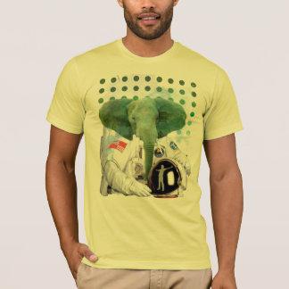 Camiseta Astronauta del elefante