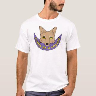 Camiseta astuto como coyote