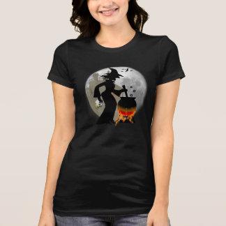 Camiseta asustadiza fantasmagórica divertida del