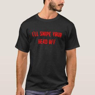 Camiseta Atacaré desde un escondite su CABEZA APAGADO