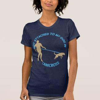 Camiseta Atado a mi perro en Canicross
