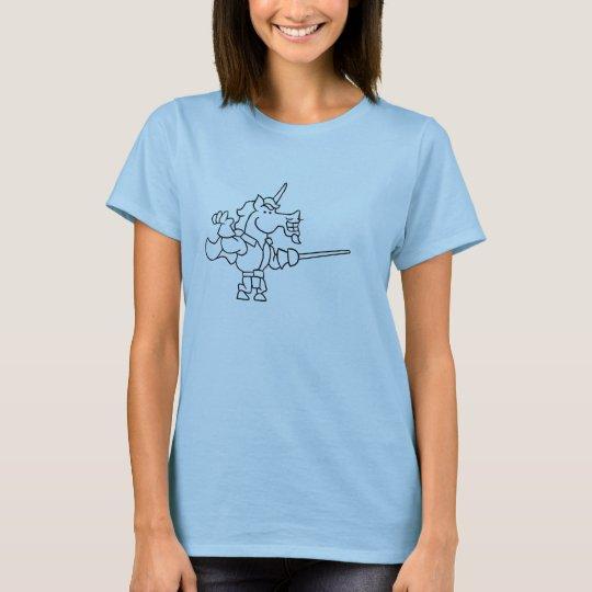 Camiseta Ataque de Diego del Doodle Wizard101 (negro y