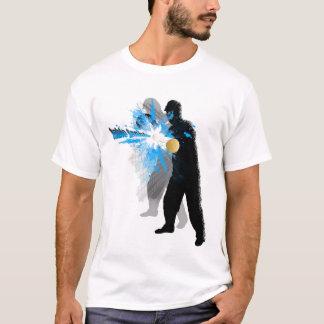 Camiseta ataque de los tenis de mesa