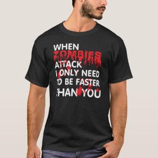 Camiseta Ataque de los zombis