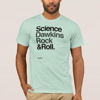 Camiseta ¡Ateo - roca y rollo de Dawkins de la ciencia!