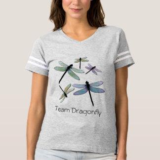 Camiseta atlética de la libélula