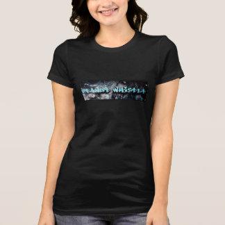 Camiseta atractiva del logotipo del pnutwhistle