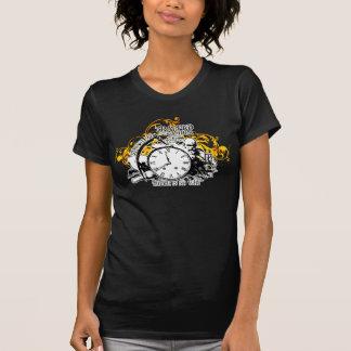 Camiseta Atrapado en el diseño ambarino del arte del vector