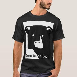 Camiseta Atrevimiento a ser oso