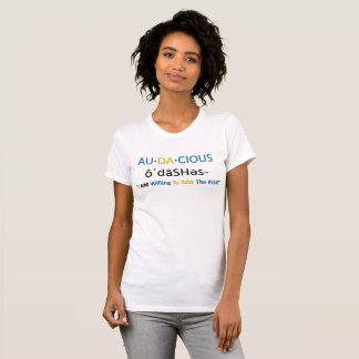 Camiseta Au-DA-cious™