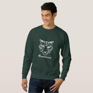 Camiseta audaz del tigre