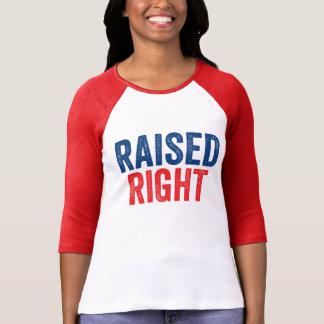 Camiseta Aumentado a la derecha