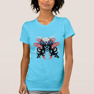 Camiseta Aureola de la abstracción tres